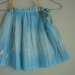 Floaty raindrops skirt