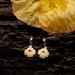Iceland Poppy flower earrings