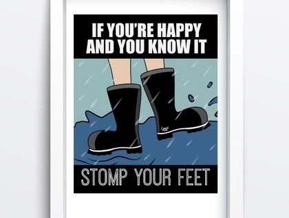 Stomp you feet by Ostrich Lane