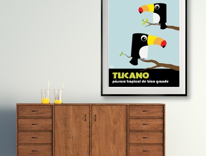 Two toucans by Ostrich Lane