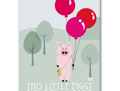 This little piggy by Ostrich Lane