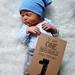 Baby Milestone Photo Cards