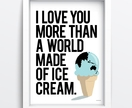 Ice cream world