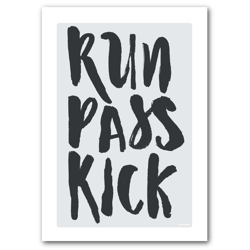 Run Pass Kick
