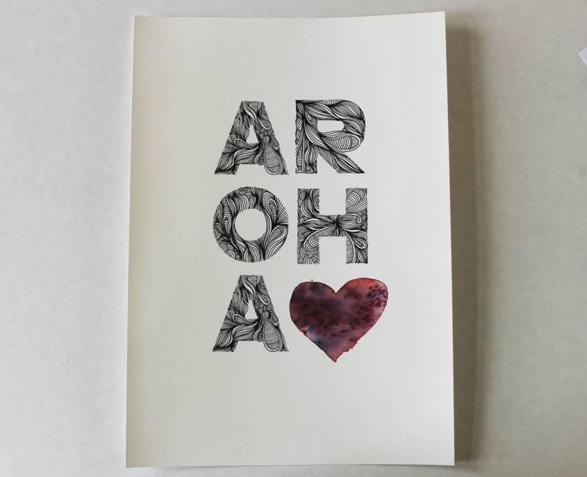 Aroha Print