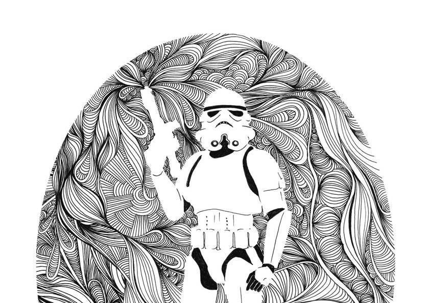 Star Wars Print - Stormtrooper