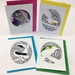 Pack of four greeting cards