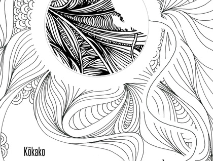 NZ Native Birds Colouring Book (pre-order)