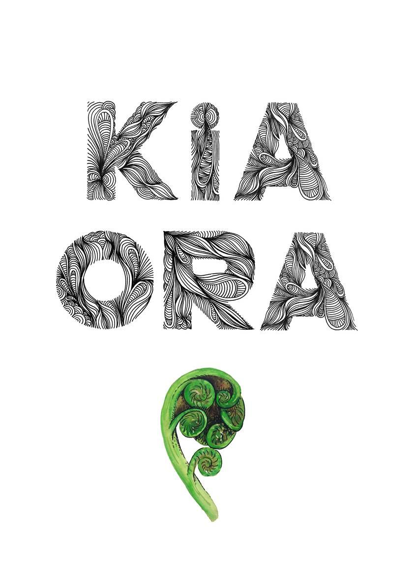 Kia Ora Print