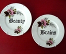 Beauty Brains duo plate set
