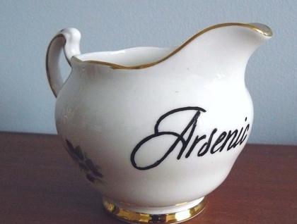 Arsenic cream jug