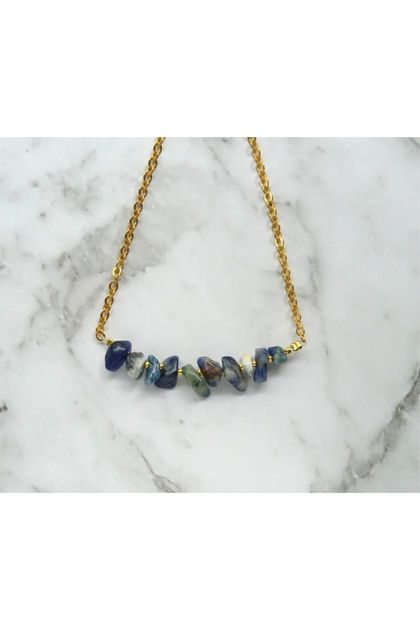 Sodalite Mini Gems necklace