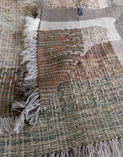 Rustica Moss Merino Throw