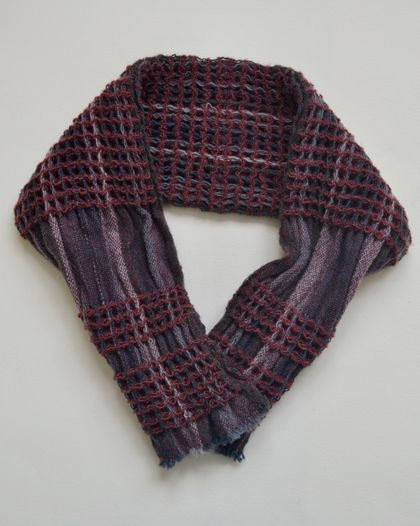 Hand-Woven Cowl