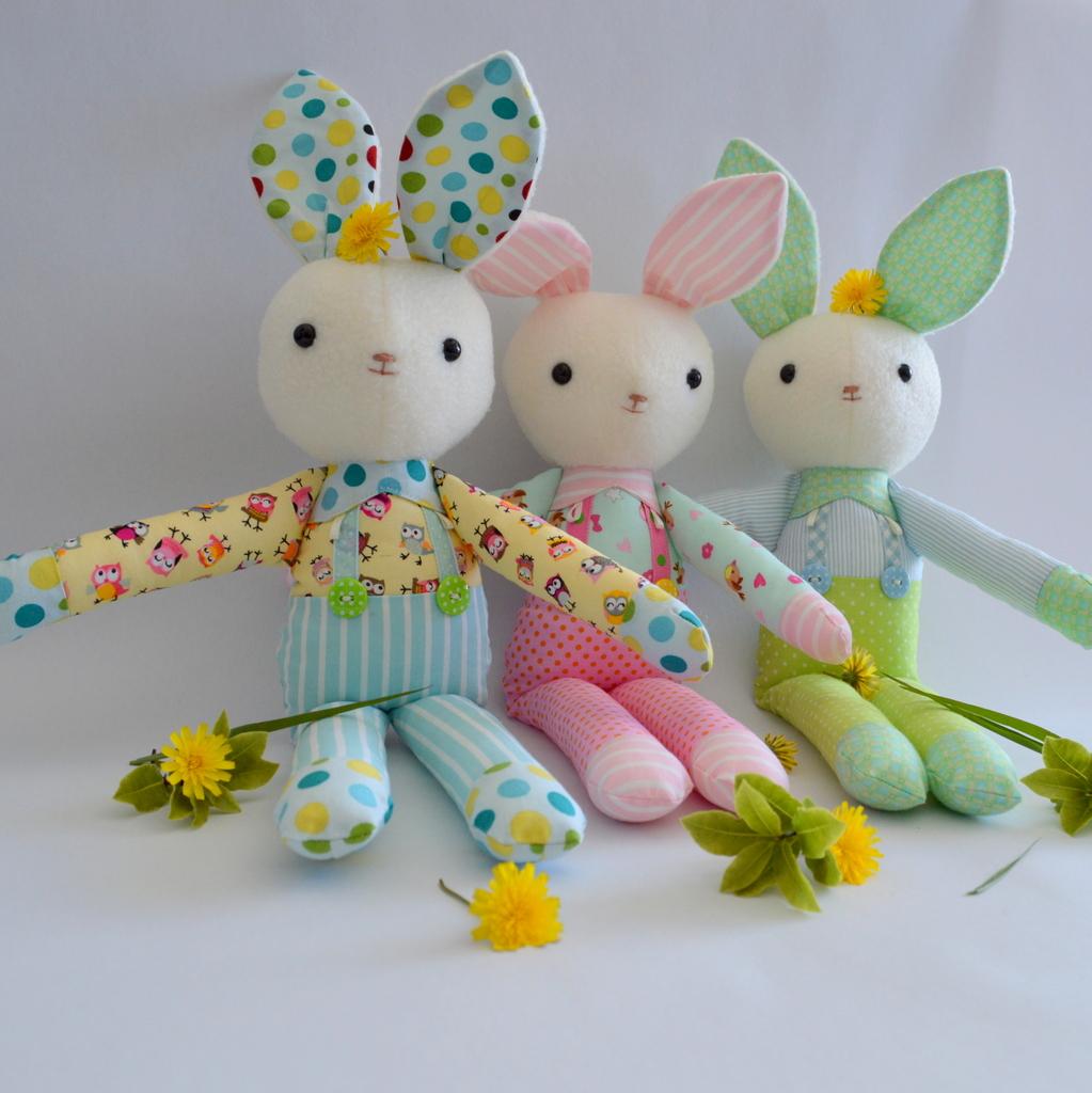 Soft Toy Patterns : Pdf sewing pattern soft toy felt