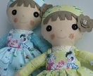 PDF sewing pattern Soft toy Dressed Dolly