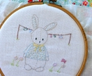 OLLIE'S washing day PDF embroidery pattern