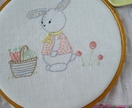 OLLIE'S market day PDF embroidery pattern