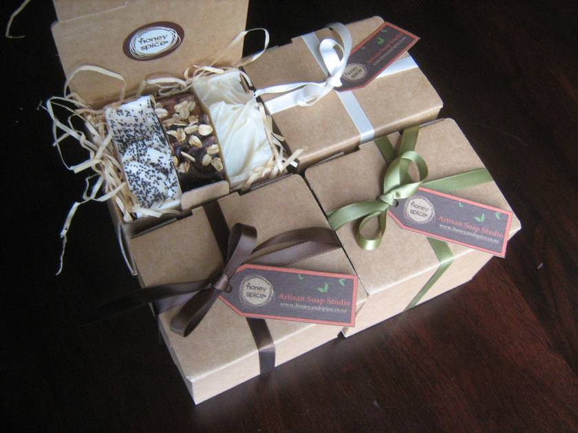 Honey and Spice Soap Gift Box!