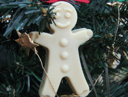 Gingerbread Men Soap Christmas Deorations!