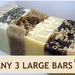 Any 3 Indulgent Soaps!