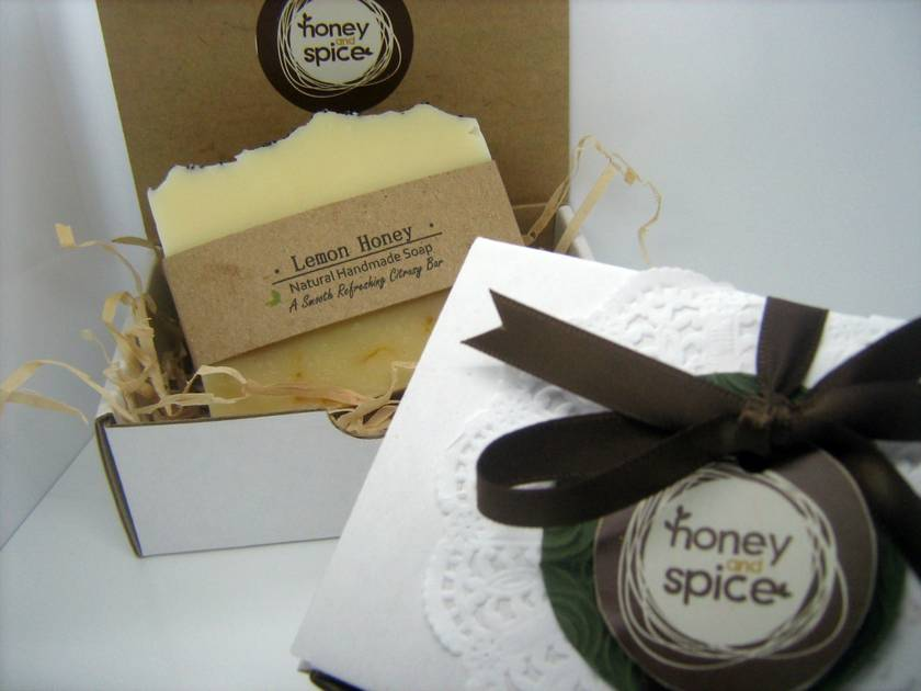 GIFT BOXED!  Indulgent, Natural Soap.