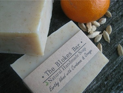 Bloke Soap - Orange & Cardamon