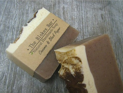 Bloke Soap - Cinnamon & Black Pepper