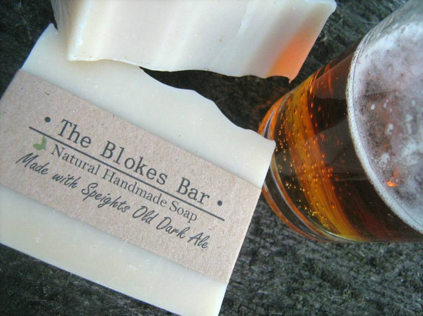 The Blokes Bar - Made with Speights Old Dark Ale