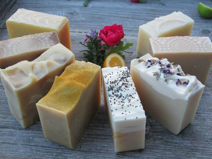 Any 3 LARGE Bars of Luxurious Natural Soap - (Palm Oil, Animal Fat & Fragrance FREE!! Yipee!)