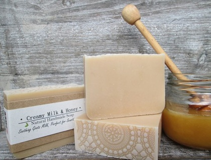 Milk and Honey - Luxurious Creamy Handmade Soap