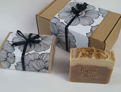 Soap Gift Box! 3x Large bars of beautiful natural soap