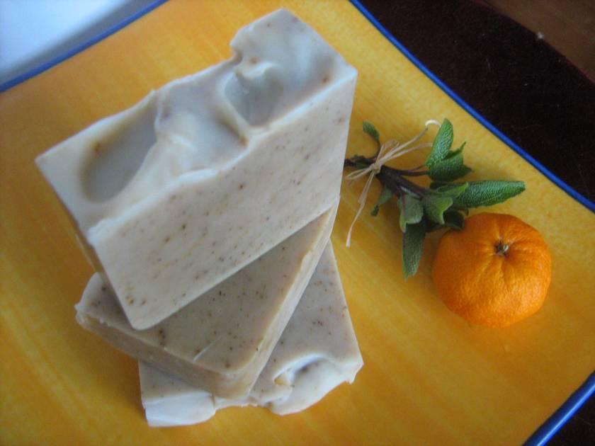 Sage Camomile  and Orange Soap