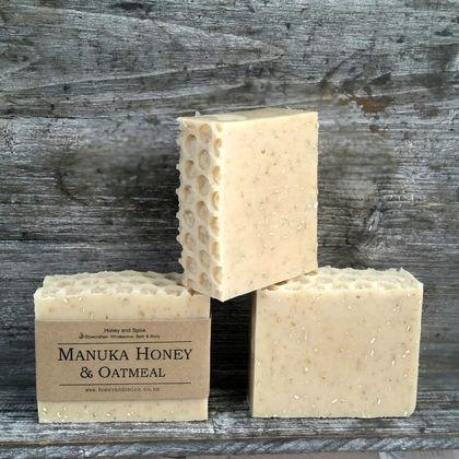 Manuka Honey & Oatmeal Soap