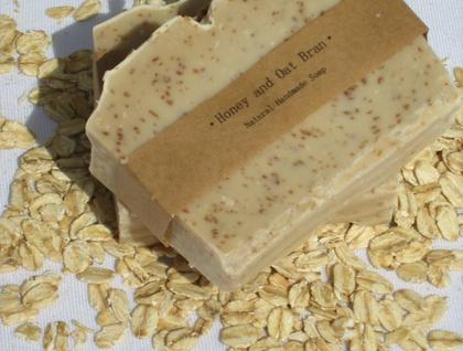 Honey and Oat  Bran Soap