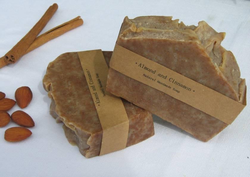 Delicious Almond and Cinnamon Soap