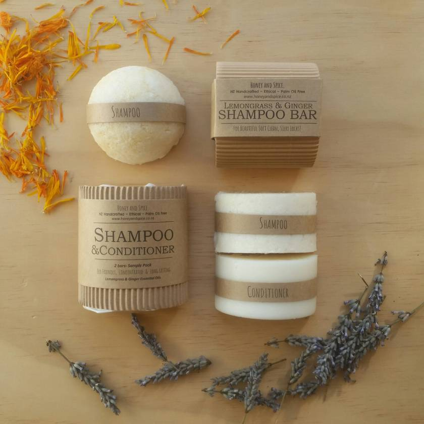 Shampoo & Conditioner Bar Pack