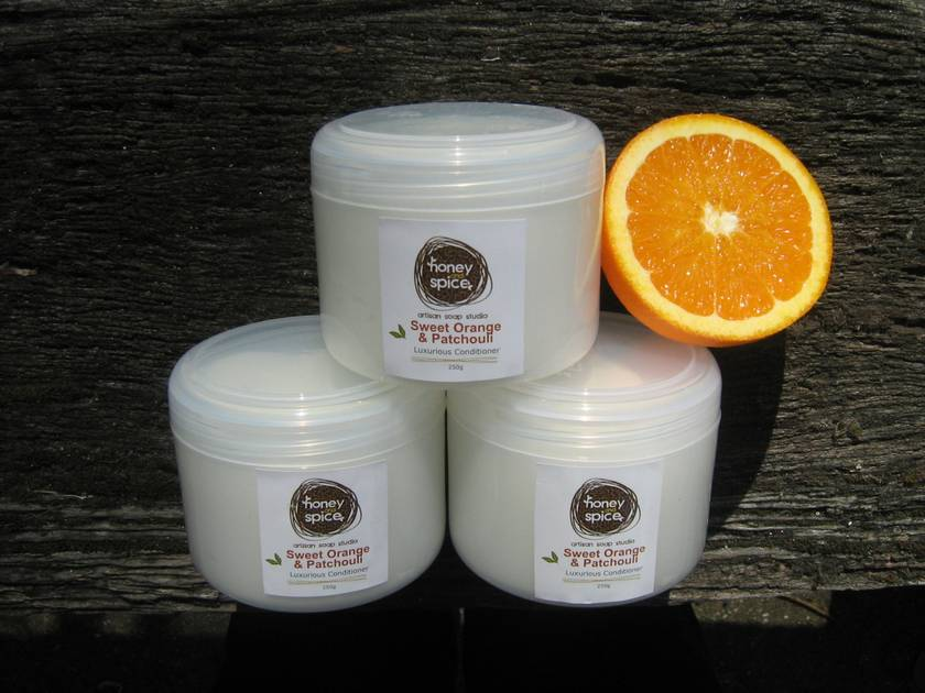 Sweet Orange and Patchouli - Luxurious Conditioner