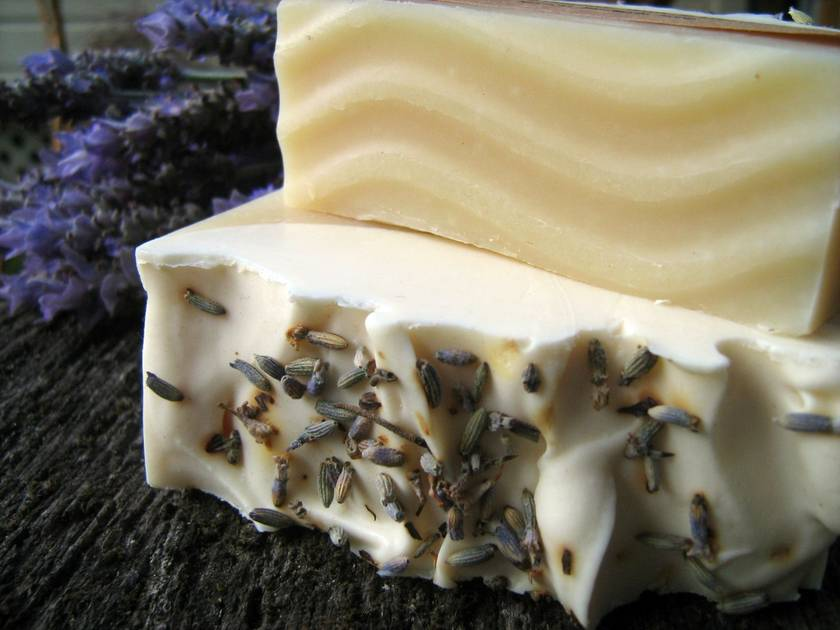Lavender and Lime Natural Handmade Soap