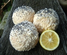 Lemon and Poppy Seed Soap Truffle
