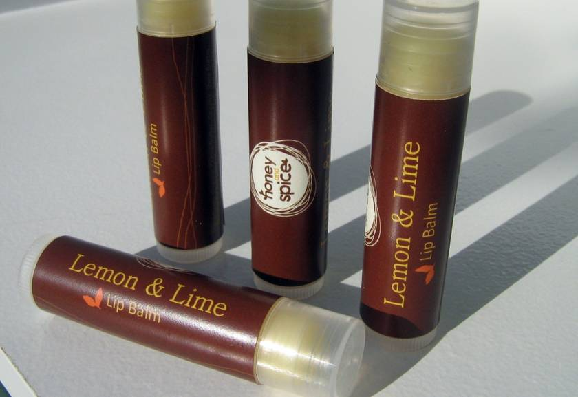 Lemon and Lime Lip Tube