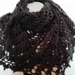 Pointy Black Shawl