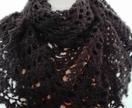 Pointy Black Shawl