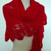Red Lacy Shawl/Scarf
