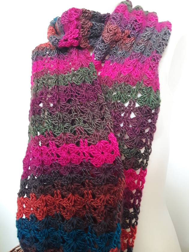 Lots of jewels scarf