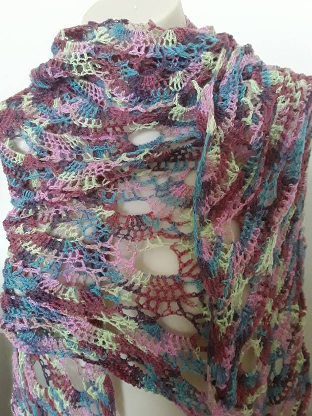 Berry berry ice cream Shawl