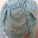 Super Soft Baby Blue Shawl