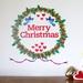Mini Mural – Christmas wreath