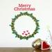 StickyTiny – Christmas wreath