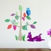 Dear Dear tree wall decal – Medium
